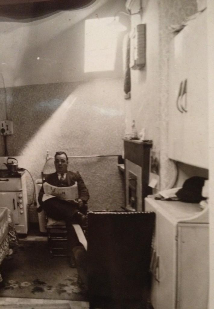 Man reading